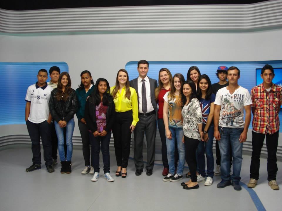 alunos na EPTV 2013