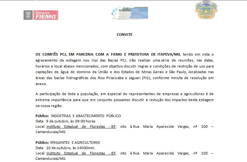 convite - PCJ - GUA