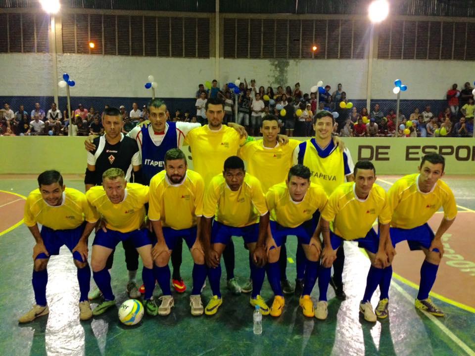 Participao na TAA EPTV de Futsal inclusive recebendo jogos no Ginsio Poliesportivo Lucio Clemente do Nascimento