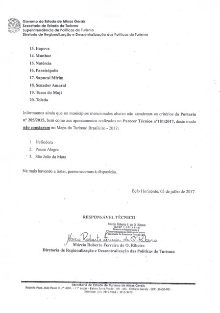 MAPA DO TURISMO 2