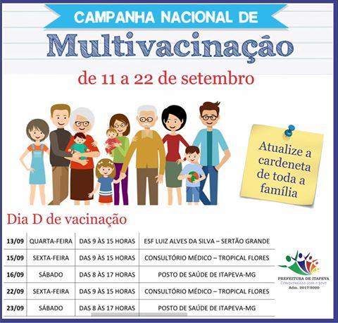 CAMPANHA DE MULTIVACINAO