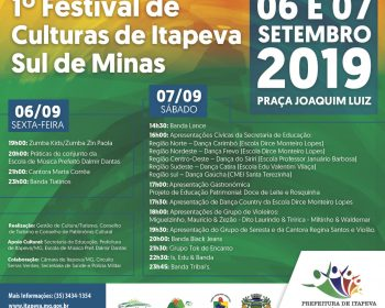 1º FESTIVAL DE CULTURAS DE ITAPEVA – SUL DE MINAS